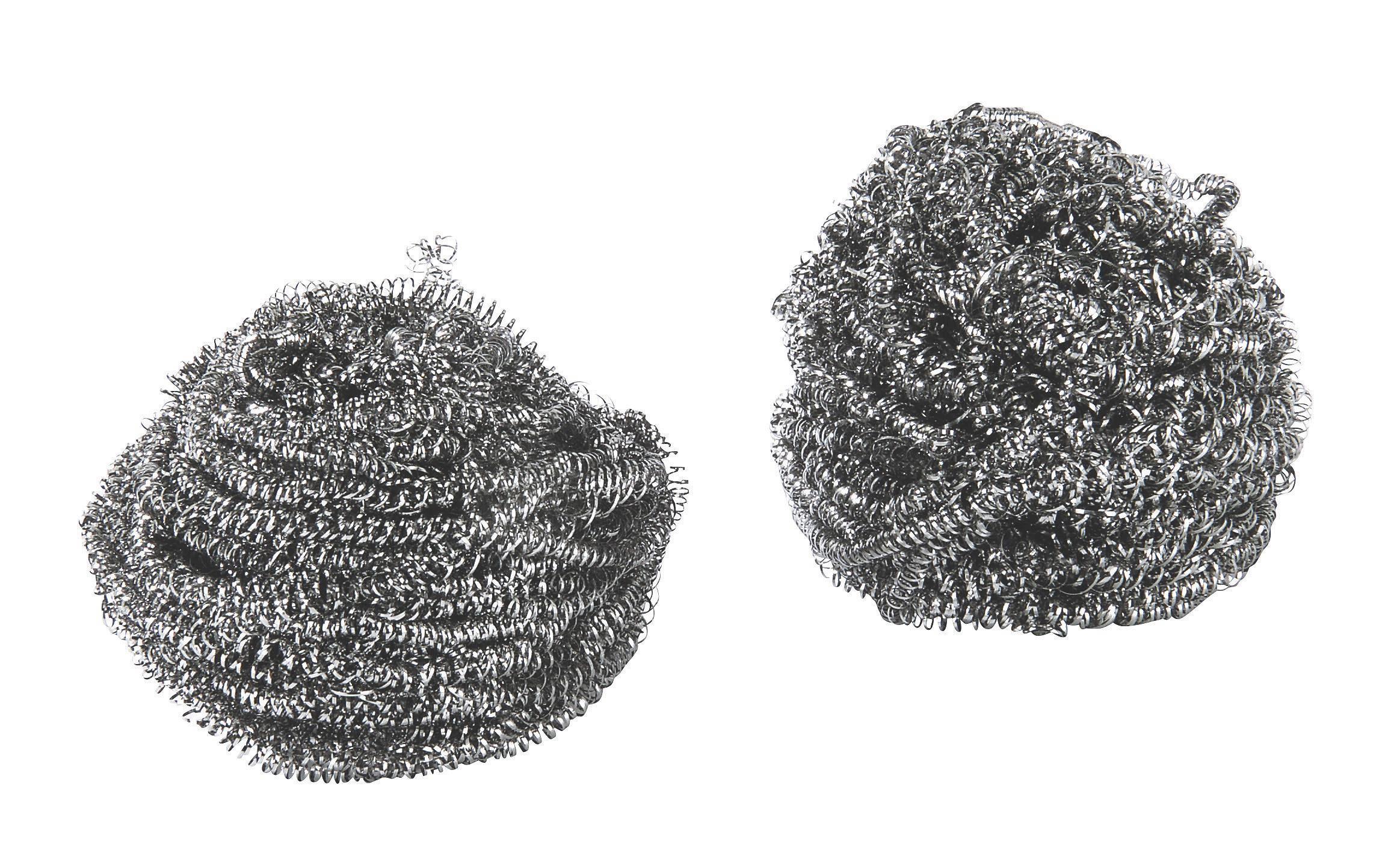 Szivacs Rozsdamentes Fém - ezüst színű, konvencionális, fém (5cm)