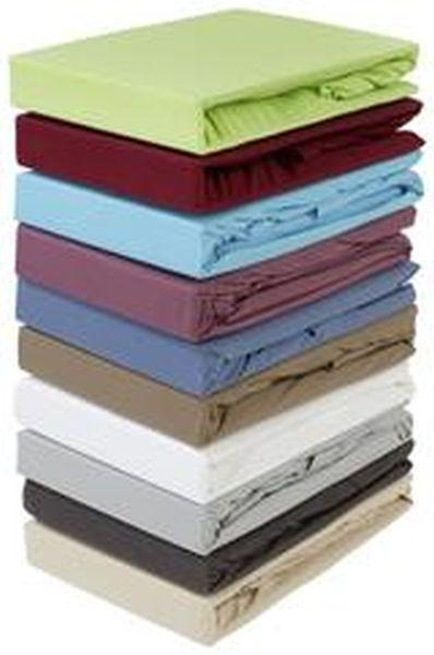 Gumis Lepedő Jardena 180x200 Cm - türkiz, konvencionális, textil (180/200cm) - OMBRA