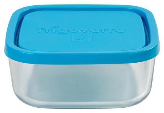 Vorratsdose Lida 0,75 Liter - Blau/Klar, KONVENTIONELL, Glas/Kunststoff (15cm)
