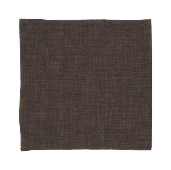 Povlak Na Polštář Leinen - tmavě hnědá, Konvenční, textil (40/40cm) - MÖMAX modern living