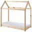 Kinder-/Juniorbett Cabane 70x140 cm Kieferfarben - Naturfarben/Kieferfarben, MODERN, Holz (70/140cm) - Livetastic
