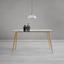 Jedálenský Stôl Vinnie - hnedá/číra, Moderný, kov/sklo (140/80/76cm) - Modern Living