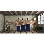 Reisekofferset Rhodos - Blau, Basics, Kunststoff (49/75/29cm) - Luca Bessoni