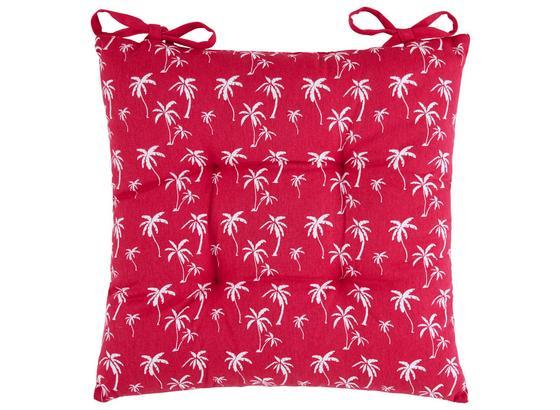 Sedací Vankúš Lady Palms - pink, Štýlový, textil (40/40cm) - Mömax modern living