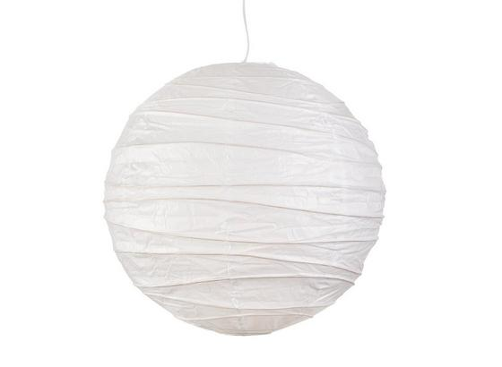 Tienidlo Na Svetlo Valentina - biela, kov/papier (40cm) - Based