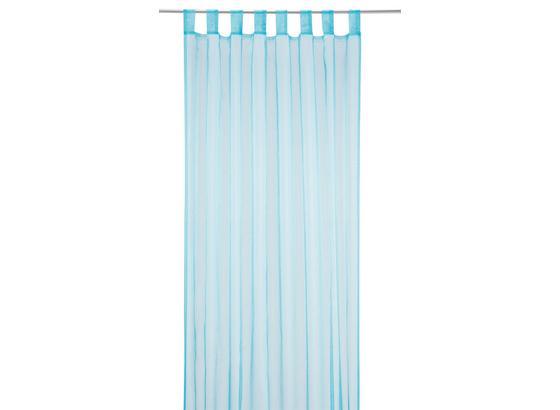 Záves S Pútkami Cenový Trhák - modrá, textil (140/245cm) - Based