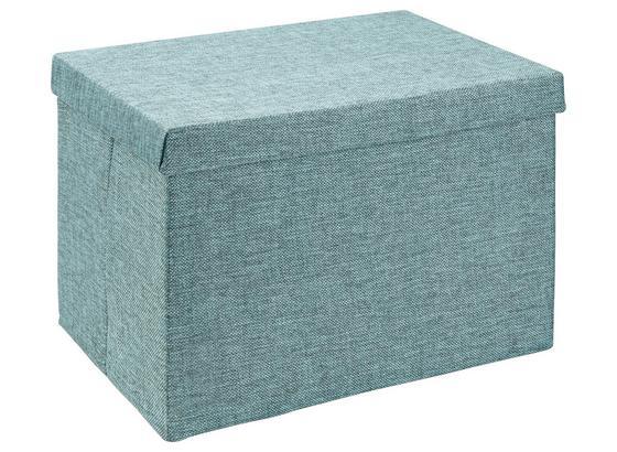 Skladací Box Cindy - petrolejová, Moderný, plast/papier (38/26/24cm) - Mömax modern living