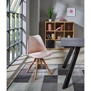 Stuhl Levi Pearl - Eichefarben, MODERN, Holz/Kunststoff (48/81/57cm) - Ombra