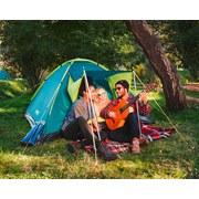 Igluzelt Pavillo Cool Ground für 3p 210x210x120cm 68088 - Türkis/Gelb, MODERN, Kunststoff (210/210/120cm) - Bestway