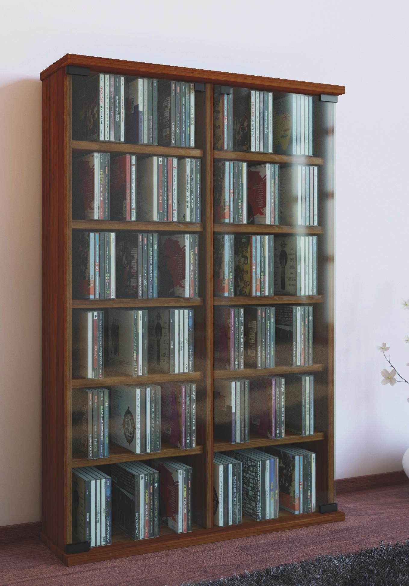 CD Regal in Kirschbaumfarben bei uns erhältlich