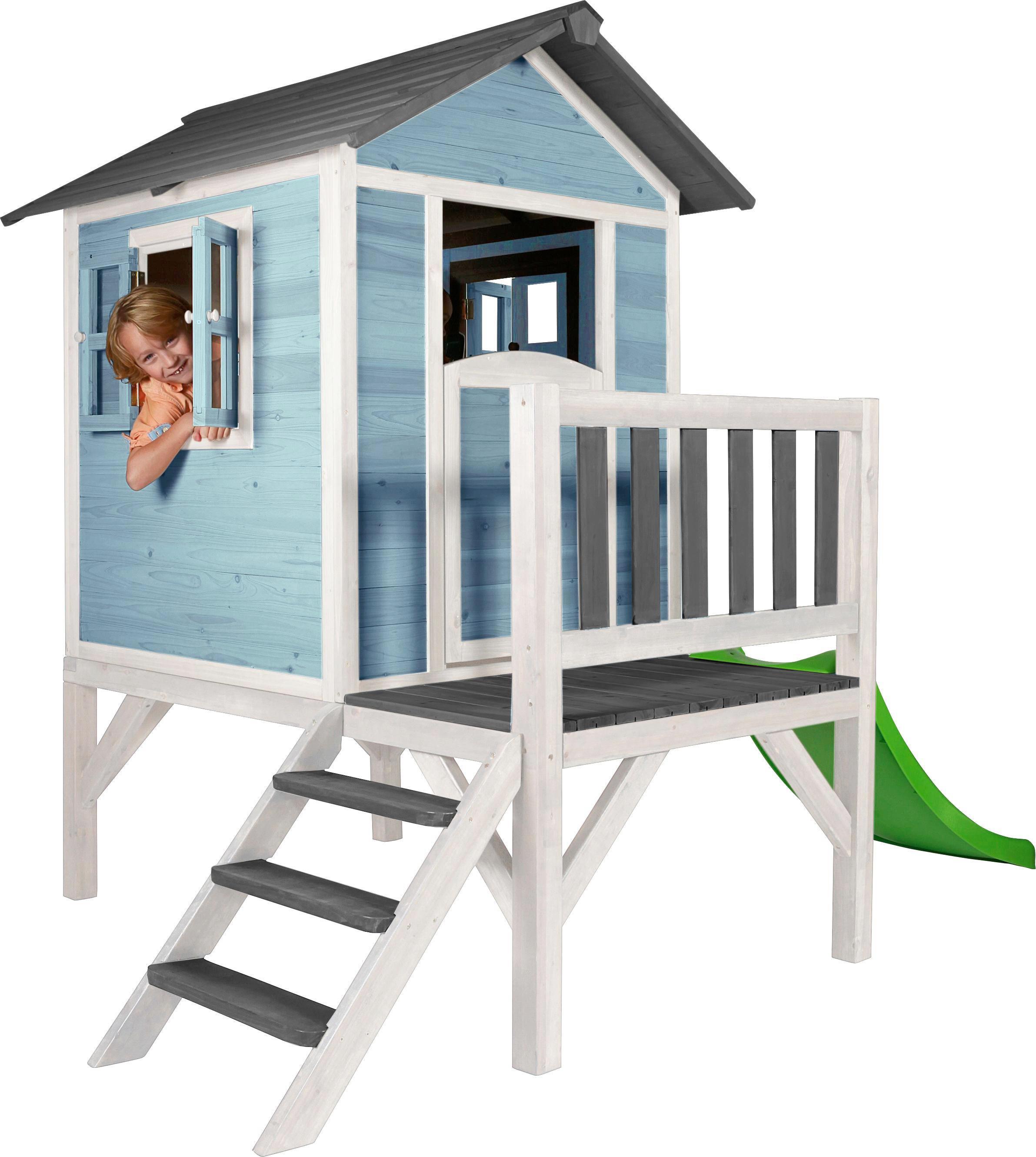 Spielhaus Sunny Lodge XL Blau/Weiß