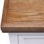 Komoda Melanie - bílá/barvy jasanu, Moderní, kov/dřevo (75/95/40cm) - Modern Living