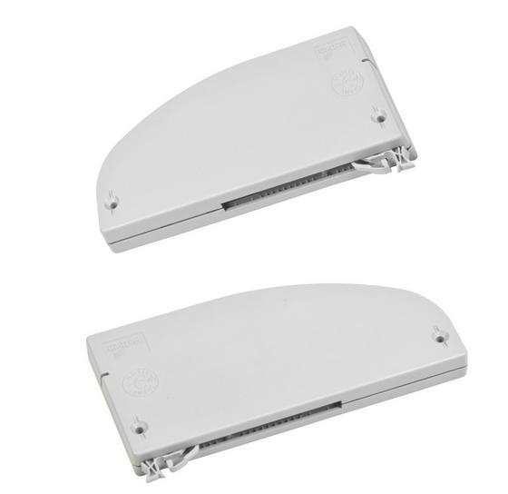 Türdämpfer für Schwebetürenschränke - Alufarben, Kunststoff (35/10/13cm)