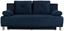 Pohovka Boxspring Ines - modrá, Moderní, dřevo/textilie (203/96/102cm) - Luca Bessoni