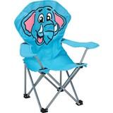 Kindersessel Blau Elefant Linda - Blau, KONVENTIONELL, Textil (59/65/33cm) - Ombra