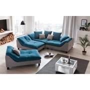Liege Luiz - Wengefarben/Blau, MODERN, Textil (143/74/93cm)