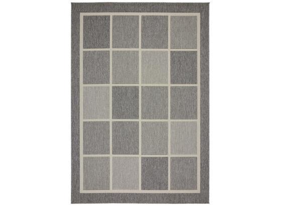 Koberec Tkaný Na Plocho Minnesota 3 - šedá, Moderní, textil (160/230cm) - Modern Living