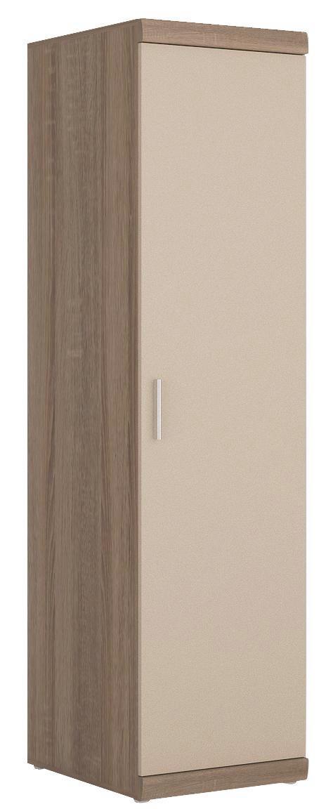 Ruhásszekrény Imperial - pezsgő szín/trüffel tölgy dekor, konvencionális (50/195/61cm)