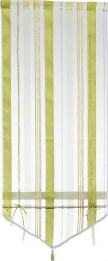 Raffrollo Milou - Blau/Champagner, KONVENTIONELL, Textil (60/140cm) - Ombra