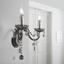 Nástenná Lampa Isabella 36/33cm, 2x40 Watt - Romantický / Vidiecky, kov/plast (36/33cm) - Mömax modern living