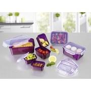 Frischhaltedose Gourmetmaxx Klick-It 28tlg - Lila, Basics, Kunststoff