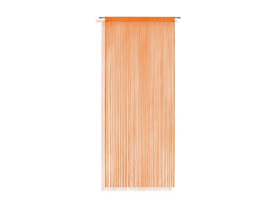 Fadenstore Marietta ca. 90/245cm - Orange, KONVENTIONELL, Textil (90/245cm) - Ombra