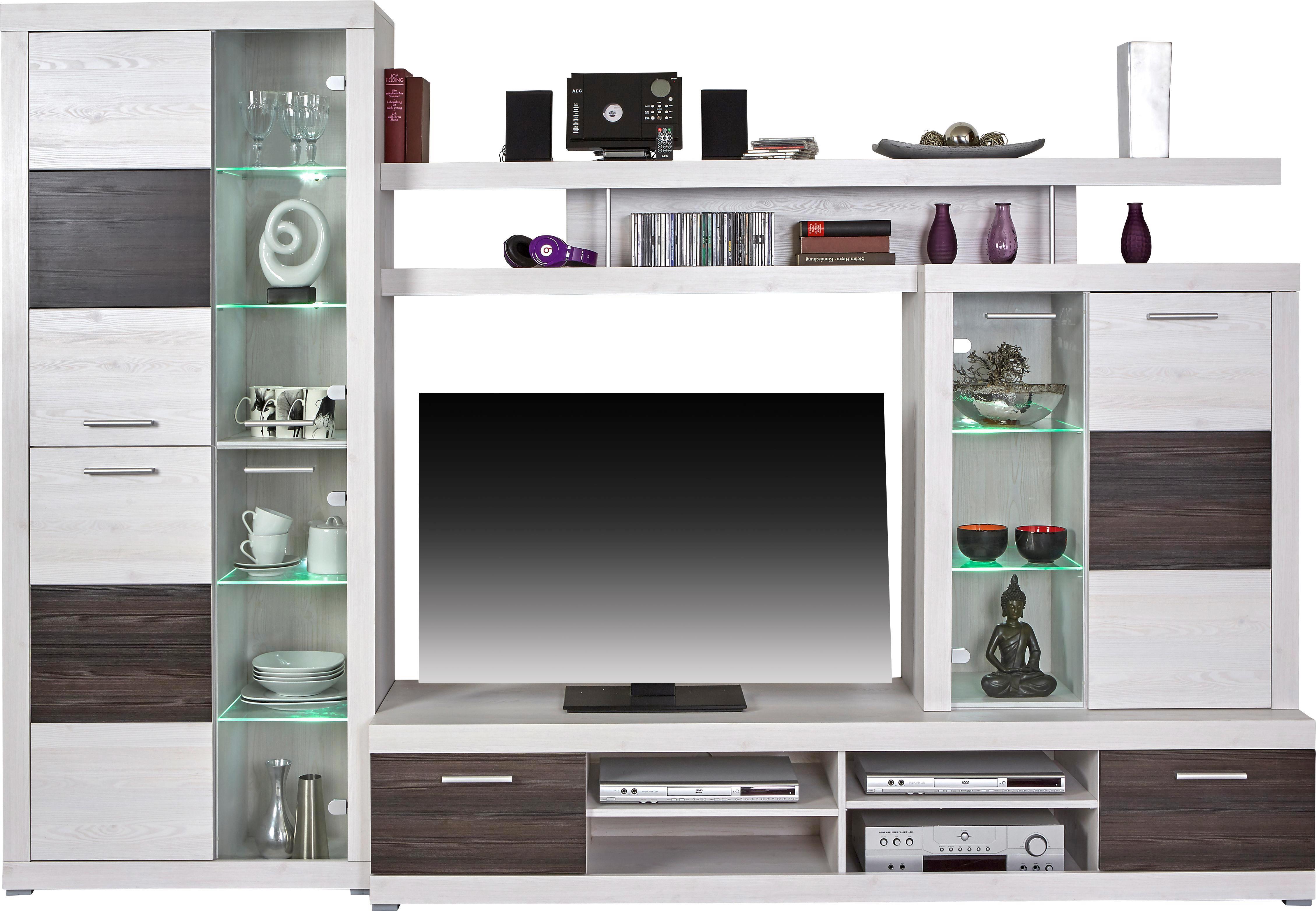 wohnwand dunkelbraun pic. Black Bedroom Furniture Sets. Home Design Ideas