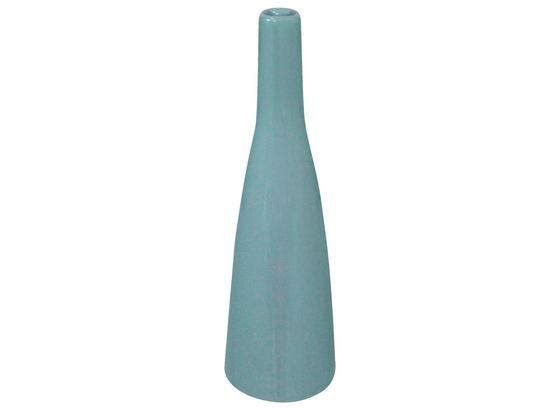 Váza Plancio I - svetlomodrá, keramika (20,5cm)