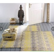 Tkaný Koberec Trio - sivá/žltá, Konvenčný, textil (120/180cm) - PREMIUM LIVING