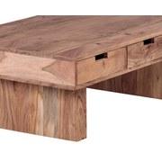 Couchtisch Mumbai L: ca. 110 cm - Akaziefarben, Design, Holz (110/60/35cm) - MID.YOU