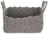 Aufbewahrungskörbchen Adorata - Schwarz/Weiß, Basics, Textil (37/23/17cm) - Luca Bessoni