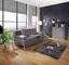 Pohovka Boxspring Ines - barvy stříbra, Moderní, dřevo/textil (203/96/102cm) - Luca Bessoni