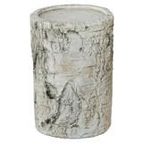 Windlicht H: 15 cm - Naturfarben, MODERN, Keramik (12/12/15cm)