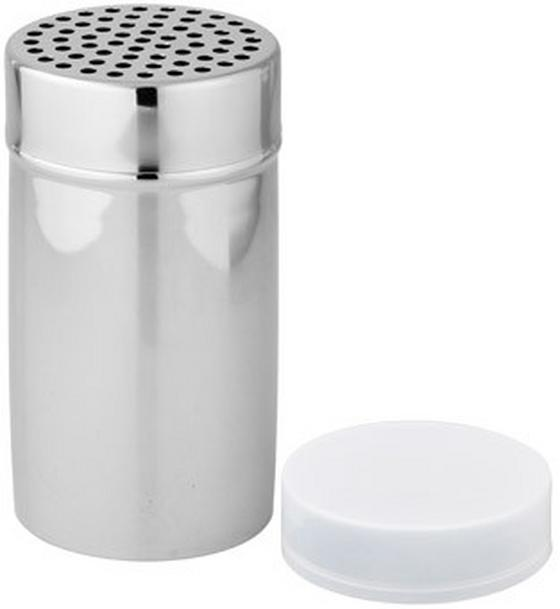Streuer Inox - Weiß, KONVENTIONELL, Kunststoff/Metall (7/13cm)