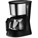 Trisa Kaffeemaschine Perfect Coffee Glaskanne 6 Tassen - Schwarz, MODERN, Kunststoff (22/15,5/27cm)