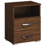 Nočný Stolík Bensheim - Moderný, kompozitné drevo (47/62/42cm) - James Wood