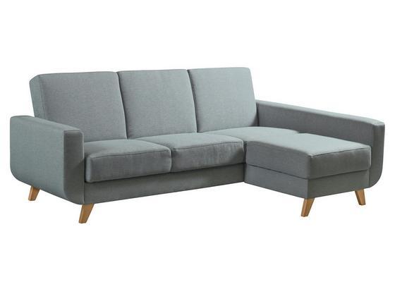 Sedacia Súprava Aramis - hnedá/modrá, Moderný, textil (228/90/150cm)