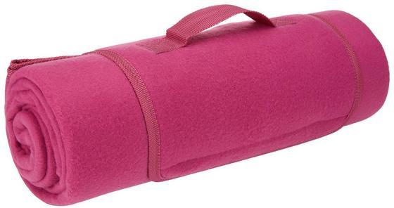 Pikniková Deka Uni - růžová, textil (125/150cm) - MÖMAX modern living