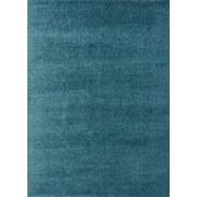 Hochflorteppich Nobel 80/150 - Türkis, MODERN, Textil (80/150cm)
