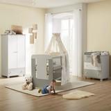 Izba Pre Bábätká Kitty - sivá/biela, Moderný, drevo - MÖMAX modern living