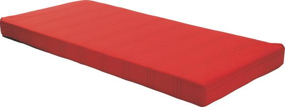 Bonellfederkernmatratze Kim 140x200 cm - Rot, Textil (140/200cm)