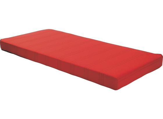 Bonellfederkernmatratze Kim 90x200 cm - Rot, MODERN, Textil (90/200cm)
