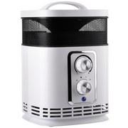 Ohřívač/ventilátor Roni - světle šedá, Moderní, umělá hmota (19,5/14,9/23cm)