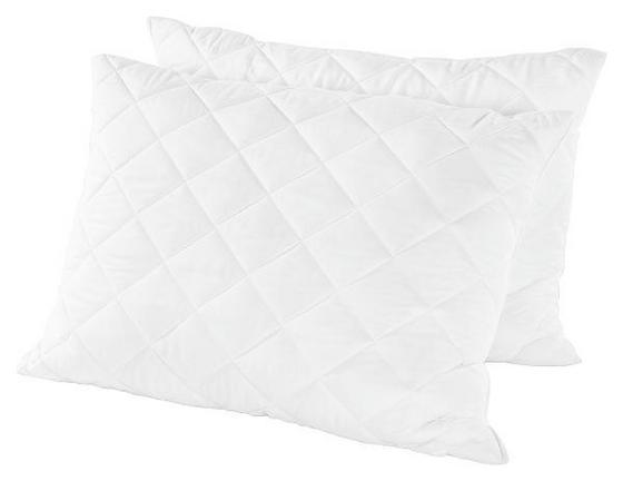 Párna Julia - fehér, konvencionális, textil (70/90cm) - PRIMATEX