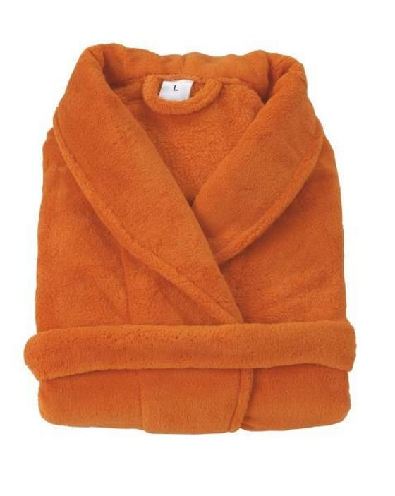 Bademantel Sina - Orange, KONVENTIONELL, Textil - Ombra