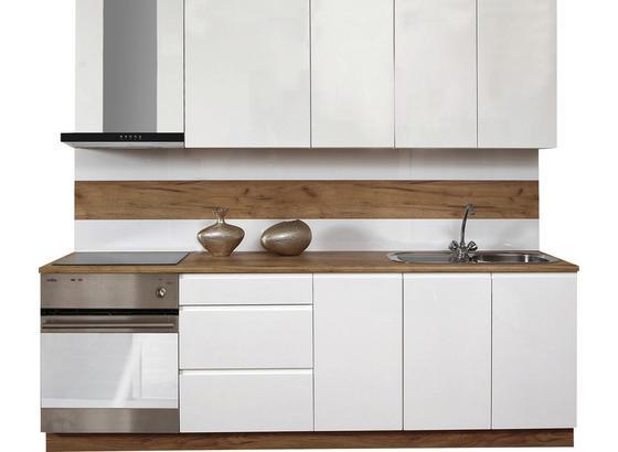 Kuchyňský Blok Atena 240 - bílá, Lifestyle, kompozitní dřevo (240cm)