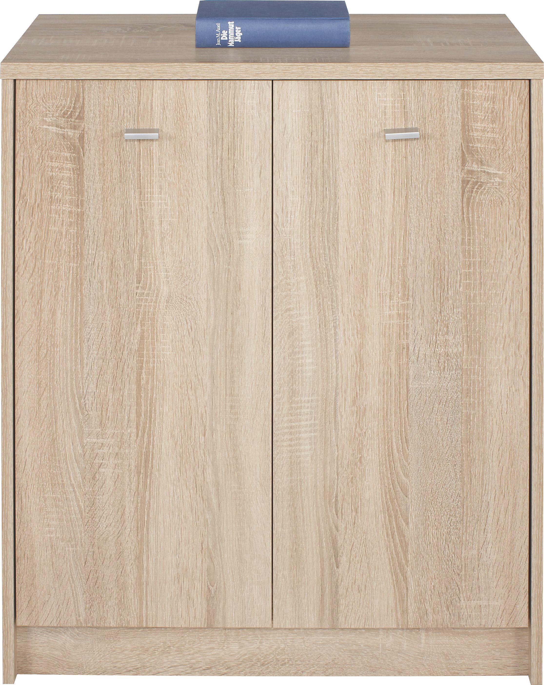 Komoda Komoda - boje hrasta, Moderno, drvni materijal (74/85,4/35,2cm)
