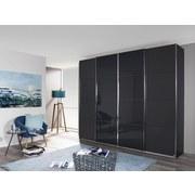 Skriňa S Posuvnými Dvermi Bensheim 271x230cm - farby grafitu/sivá, Moderný, drevený materiál (271/230/62cm) - James Wood