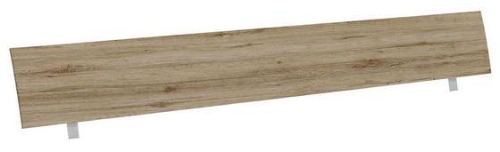 Kopfteil Belia, für Bett 180x200 cm - Eichefarben, KONVENTIONELL, Holz (187cm)