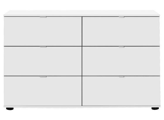 Kommode Advantage B:130 cm Weiß - Weiß, MODERN, Holzwerkstoff (130/83/41cm)